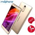 Leagoo m8 smartphone 3g 5.7 pulgadas de pantalla ips 1280*720 pixel mtk6580a quad core 2 gb + 16 gb 3500 mah batería teléfono móvil de identificación de huellas dactilares