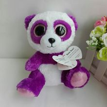 BOOM BOOM PANDA TY BEANIE BOOS 1PC 15CM 6 BIG EYE Plush Toys Stuffed animals KIDS TOYS GIFT CHILDREN GIFT Decor цена