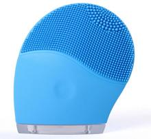 Electric Face Cleanser Vibrate Pore Clean Silicone Cleansing Brush Masseger Facial Vibration Skin Care Spa Massage недорого