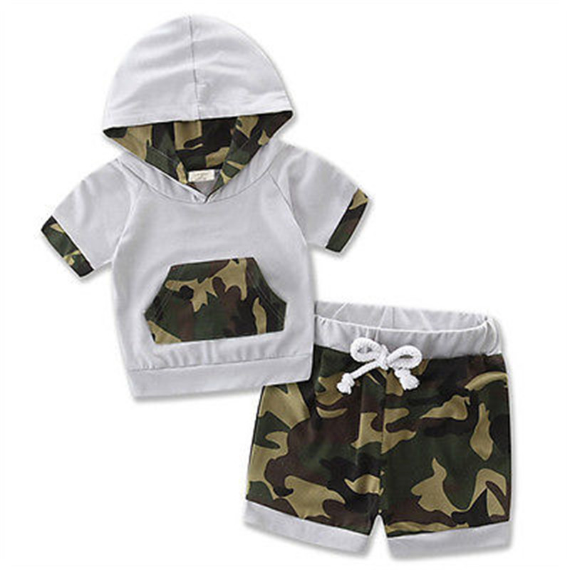 Hot sales Newborn Baby Boy Girl Clothes Short Sleeve Tops Romper+ Pants Multi Style Outfits Cotton Baby Clothing Set