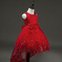 84a46bcc8198d Enfants Robe Pour Soirée. Hot Selling 2017 Girls Flower Pageant Dress  Children Kids Girl Lace Tutu Princess Dresses For Evening