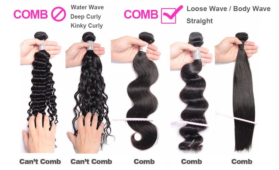 X-Elements Hair Malaysian Kinky Curly Hair Weave 3 4 Bundles Deals 100% Human Hair Extensions Non-Remy 8-26 Inches Natural Color (9)