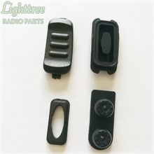 10setsX PTT Rubber And Button For Vertex VX231 4 Pieces In 1 Set