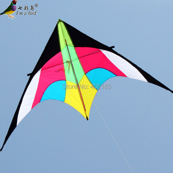 Free Shipping Outdoor Fun Sports Weifang Kite Aprons Penguin Quality Umbrella Cloth And Resin Rod Flying