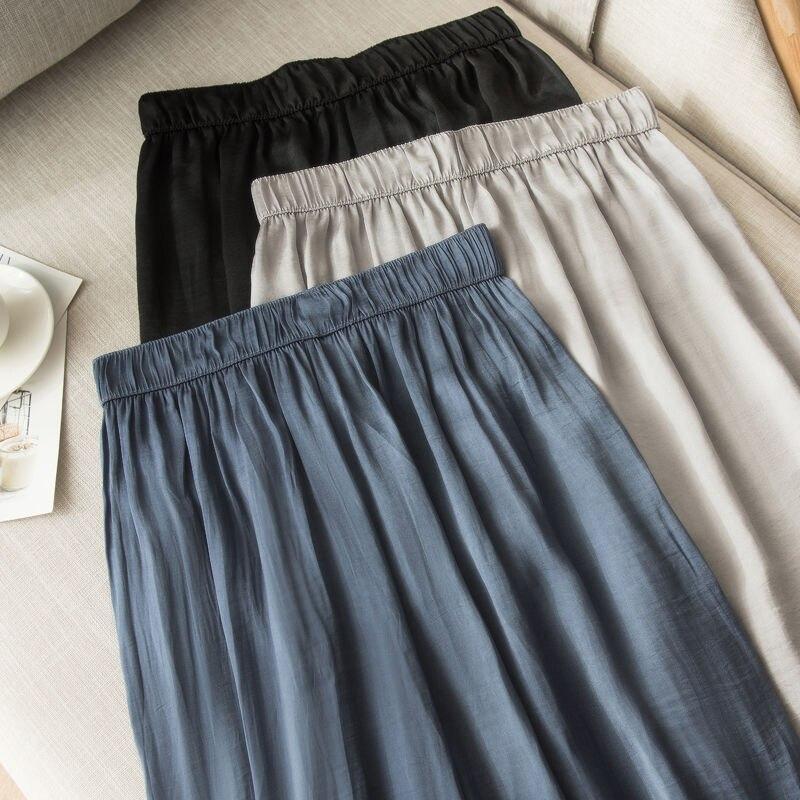 YOFEAI NEW Ice Silk   Wide     Leg     Pants   Summer Casual Trouser   Pants   Fashion Loose   Pants   Female Camouflage   Wide     Leg     Pants
