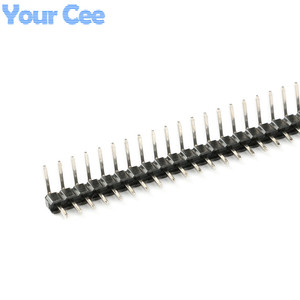 20 Uds 1x40 Pin Looper Pin Header Single Row Pitch 2,00mm 2mm