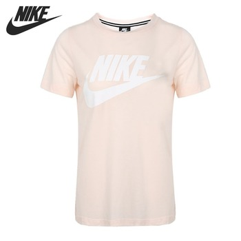 Original New Arrival  NIKE NSW ESSNTL TOP HBR Women's  T-shirts short sleeve Sportswear