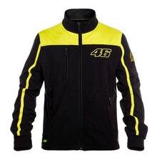 2016 VRfortysix Вален Росси VR46 Большой 46 Желтый Панели Moto GP Балахон Спорт Взрослых Кофты