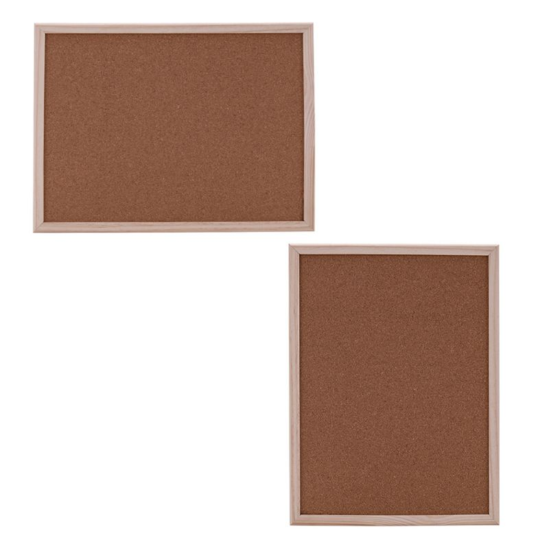 40x60cm Cork Board Drawing Board Pine Wood Frame White Boards Home Office Decorative(China)