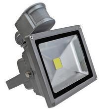 AC 85-265 V 10 W 20 W 30 W 50 W 70 W 100 W PIR LLEVÓ el Reflector Césped lámpara al aire libre luz de Inundación del LED con Sensor de Movimiento Detective Proyector