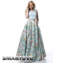 Women Skirts Maxi Boho Floral Summer Beach Skirt Long Evening Party Summer Clothing 2018 Bohemian Beach Skirts (China)