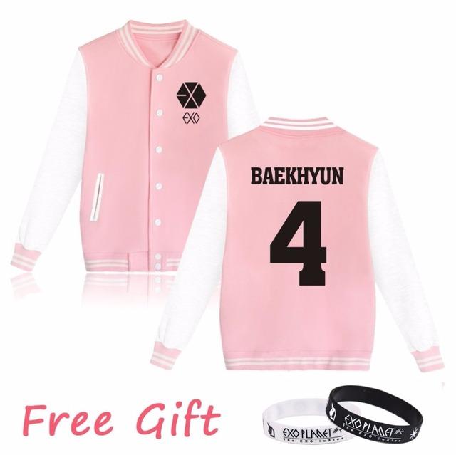 EXO Baseball Jackets (20 Styles)