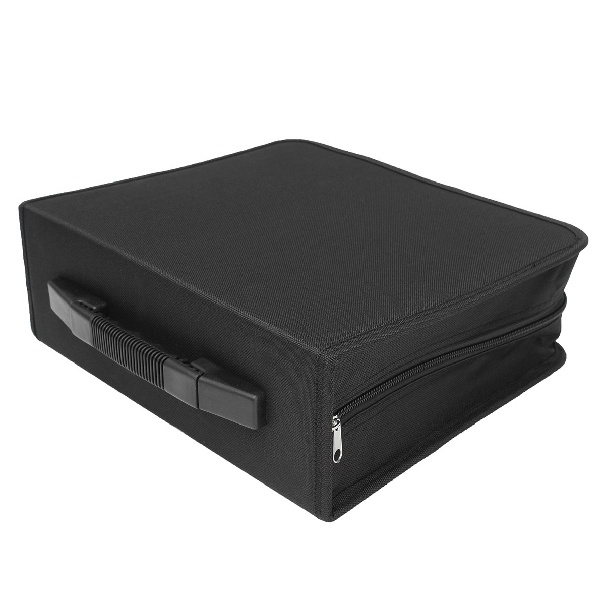 Oxford Cloth Large 288 Disc CD DVD Storage Box Case Carry Bag Binder Book  Sleeves Rack Holder Home Room Discs Organizer In Storage Boxes U0026 Bins From  Home ...