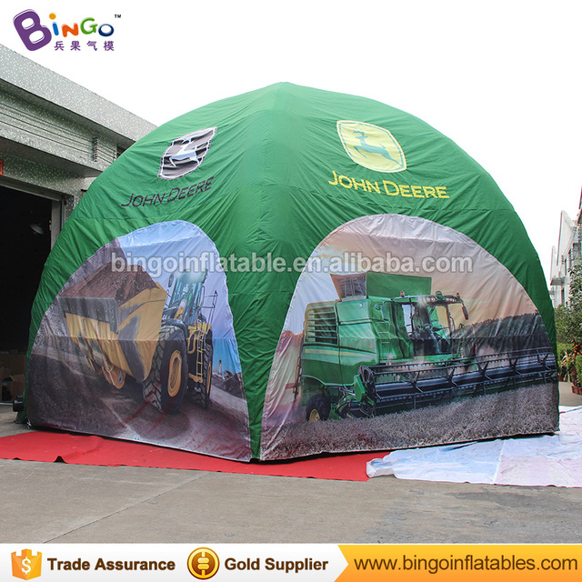 High quality 8m dia Inflatable spider Tent customized digital printed 5 legs green color blow up  sc 1 st  AliExpress.com & High quality 8m dia Inflatable spider Tent customized digital ...