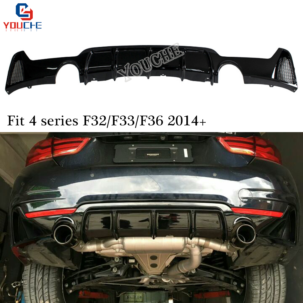 Diffuseur de pare-chocs F32 à lèvre arrière pour BMW série 4 F32 F33 coupé cabriolet F36 Gran coupé berline avec paquet M 420i 428i