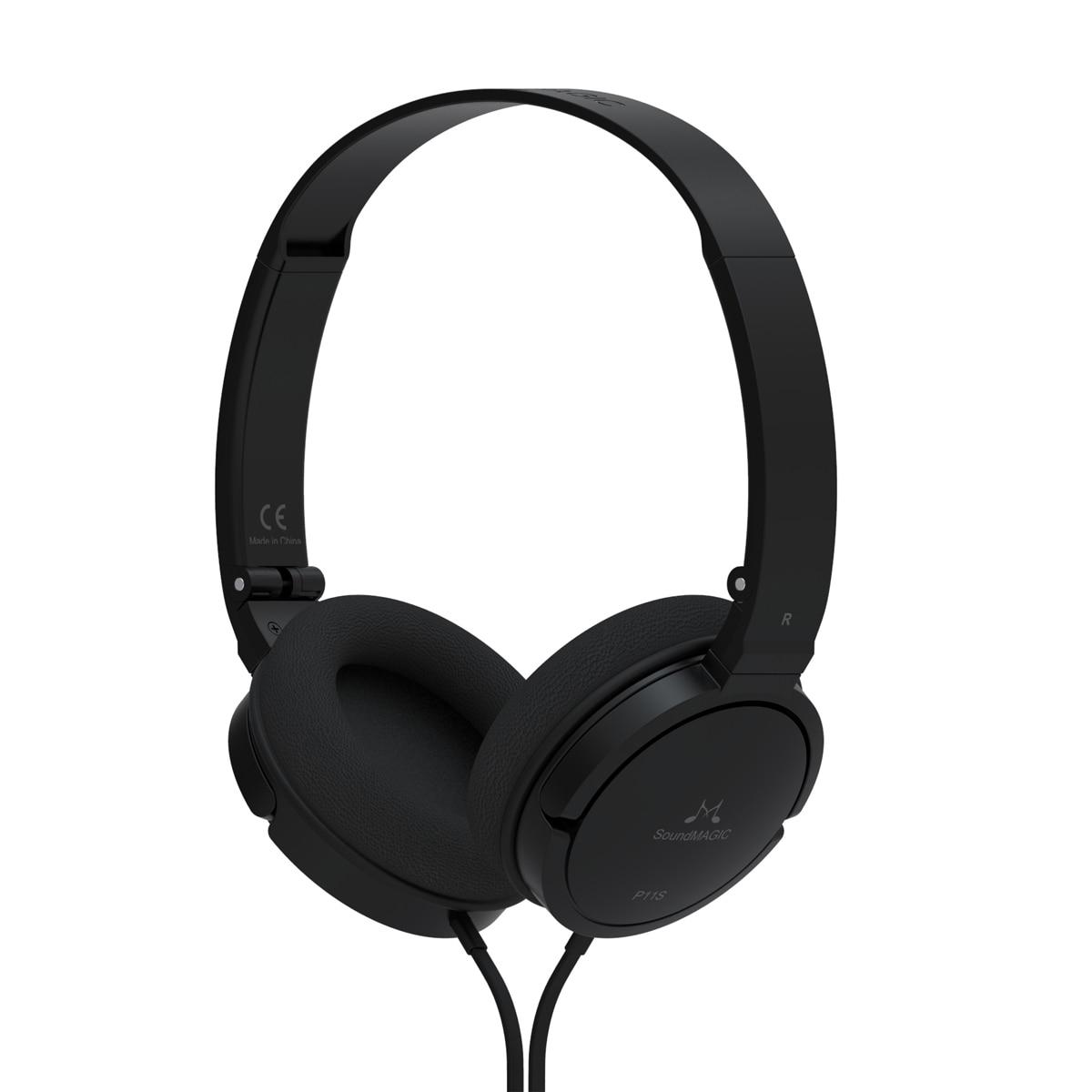 New Hot Soundmagic p11s headset earphones belt Hifi ear remote control Headphones For Portable Media Player Mobile Phone portable media player