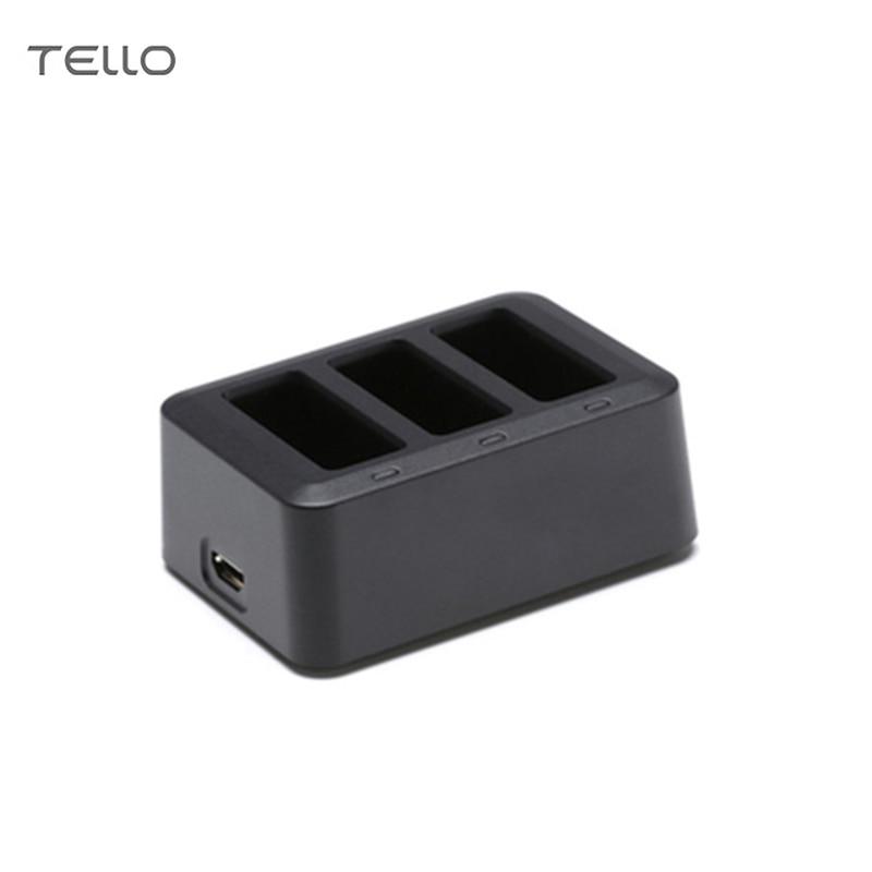 DJI Tello Batterie Chargeur Hub Multi Batterie De Charge Hub pour DJI Tello 1100 mah Drone Intelligent Vol Batterie