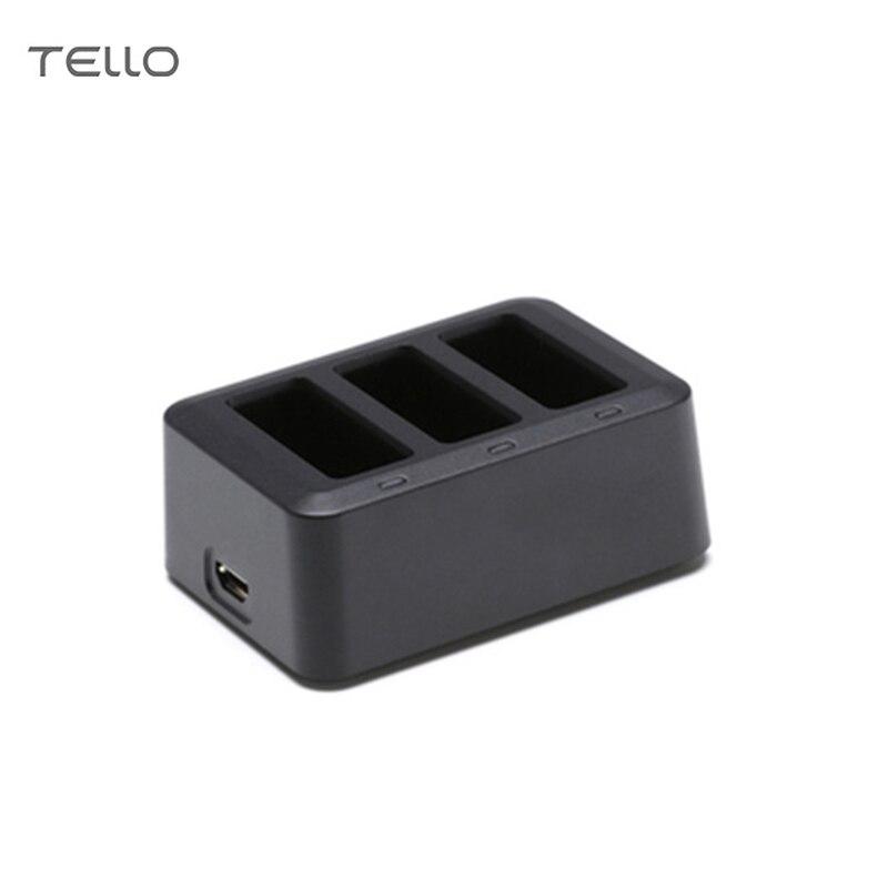 DJI Tello batería Hub Multi cargador de batería para DJI Tello 1100 mAh Drone batería de Vuelo Inteligente