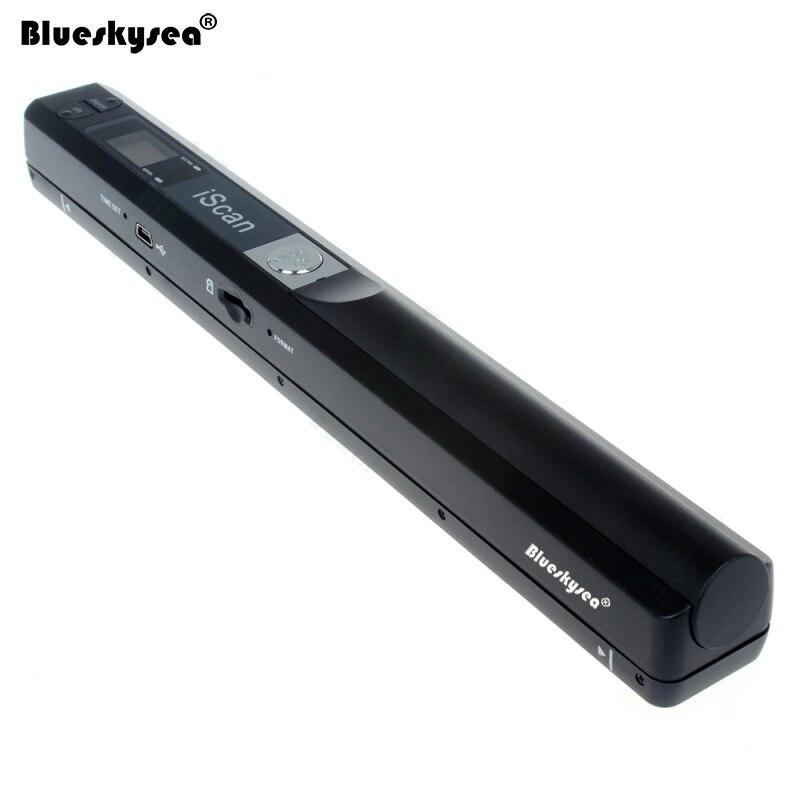 Iscan01 Portable Document A4 Scanner 24 peu USB 900 dpi De Poche Document Scanner Pour Livre JPG/PDF Fichier Image couleur A4 Scanner