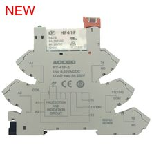6A 250V Slim Relay Mount On Screw Socket with LED and Protection Circuit 24VDC/AC