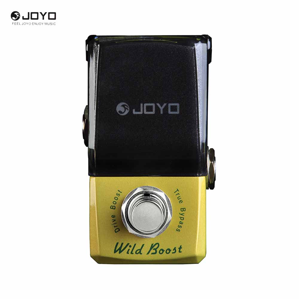 JOYO JF-302 Mini Ironman Series Effect Pedal Wild Boost Drive Booster diy booster boost clean guitar effect pedal boost true bypass booster kits fp