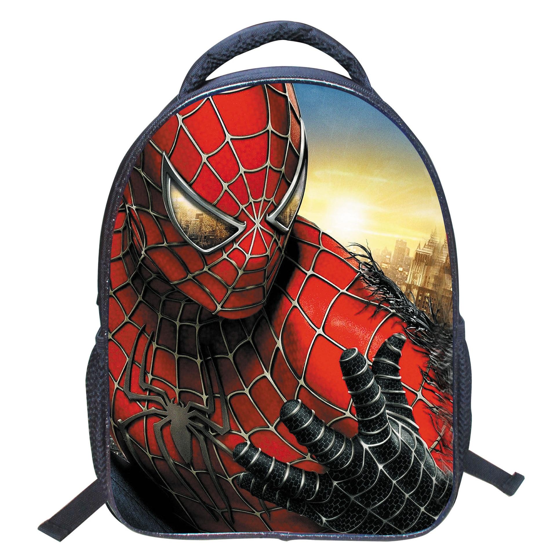 Children s Gifts Kindergarten Boy font b Backpack b font Cartoon Spiderman Baby Children School Bags