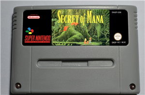 SECRET OF MANA - RPG Game Card EUR Version Battery Save цена