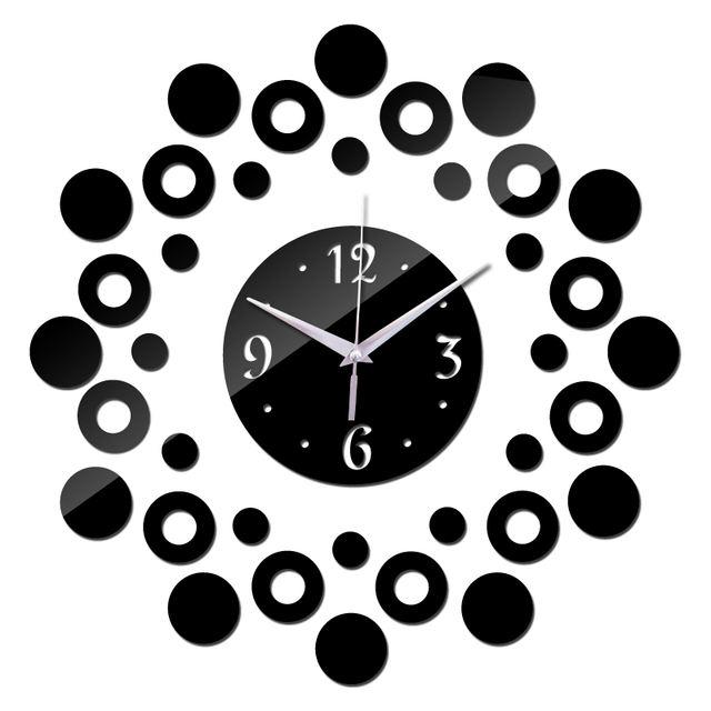 Modern new 3d acrylic clocks home decor