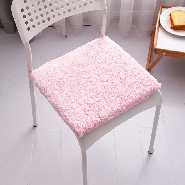 16 Inch Square Chair Cushion Indoor Outdoor Non Slip Seat Cushion Office  Comfortable Sitting