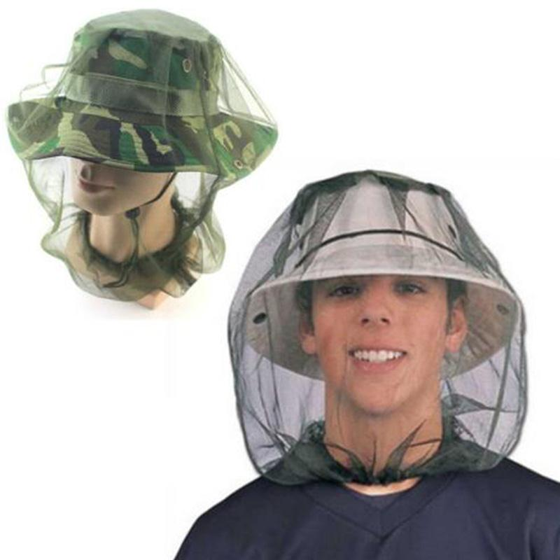Beekeeping Hats Hat Midge Mosquito Protect Fish Cap Camping Hunting Head Face Protecting Mesh Net For Men Women 45x33cm Attractive Appearance Home & Garden Garden Supplies
