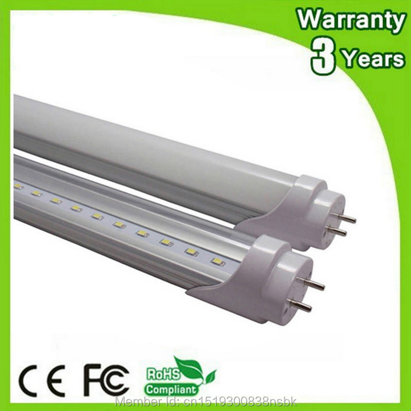 10PCS 50000H Lifespan 600mm 900mm 1500mm 1200mm LED Light T8 LED <font><b>Tube</b></font> 4ft 2ft 3ft 5ft Fluorescent Lamp Daylight image