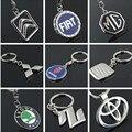 66 Автомобиля Эмблема Металла 3D Полый Брелок Для Автомобиля С Логотипом Брелок Key Chain Кольцо Брендов CNYOWO