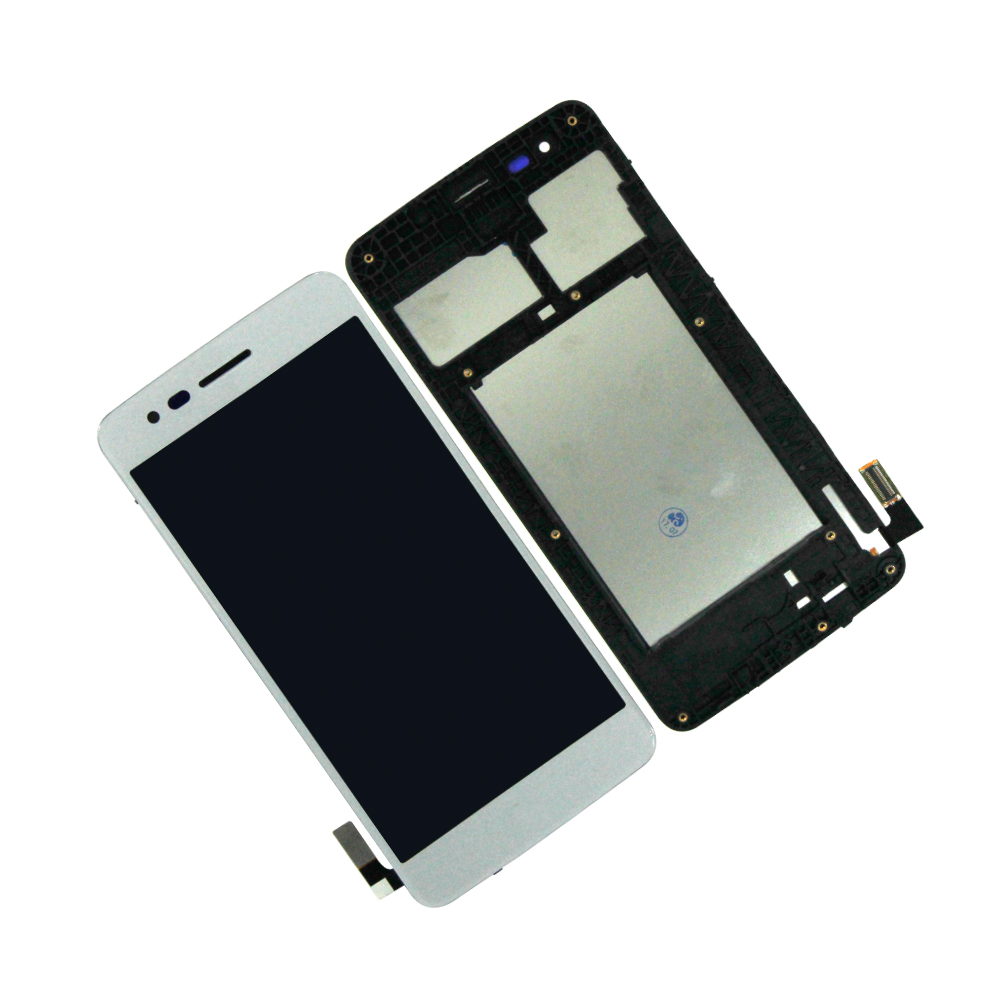 Touch Screen Digitizer LCD Display For LG K8 2017 M210 MS210 X240 M200N Assembly With Frame Mobile Phone LCDs Repair Parts