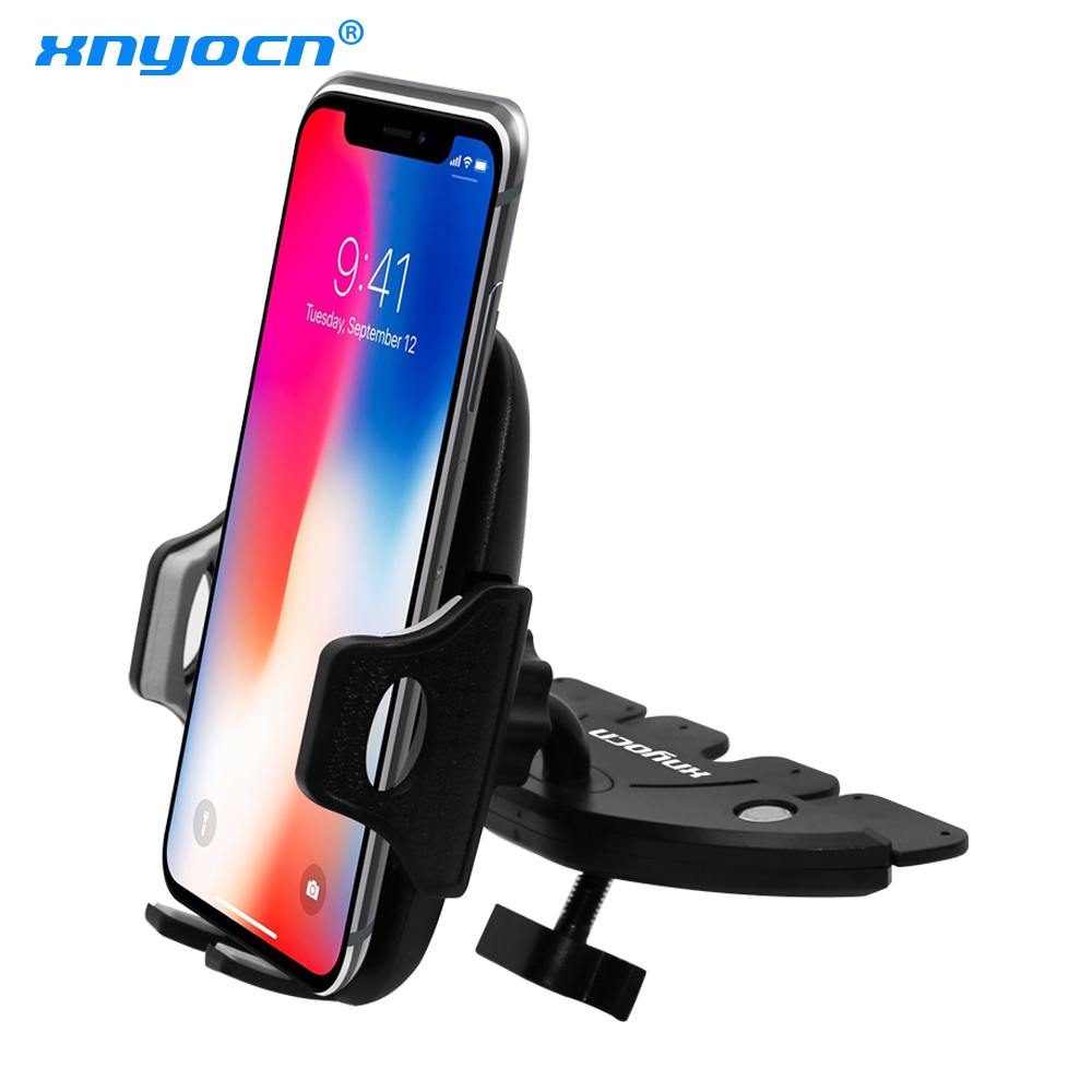Portable 360 Degree Universal Car CD Slot Dash Phone Mount Stand Holder for IPhone for Samsung for HTC for Sony CarPhone BracketPortable 360 Degree Universal Car CD Slot Dash Phone Mount Stand Holder for IPhone for Samsung for HTC for Sony CarPhone Bracket