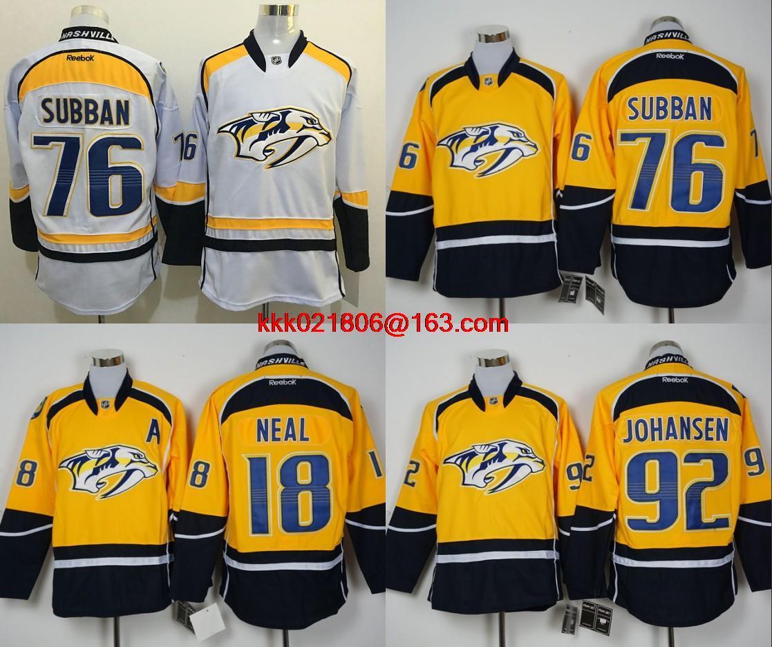 big sale 0f6cc 66614 nashville predators jersey aliexpress