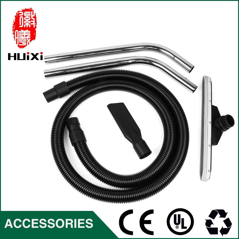 Diameter 40mm Black Flexible EVA threaded Hose+bending pipe+Floor brush +nozzle suction for industrial Vacuum Cleaner part BF501
