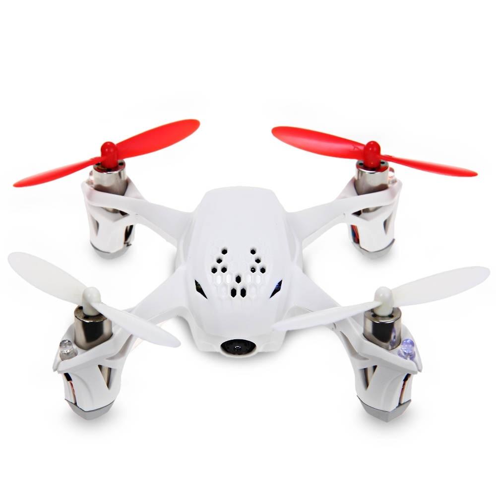 Hubsan X4 H107D RC Drone Drone 5.8G en temps Réel FPV Voler Hélicoptère 4CH 6 Axes Gyro quadrirotor avec Caméra HD Gyroscope Intégré Drones