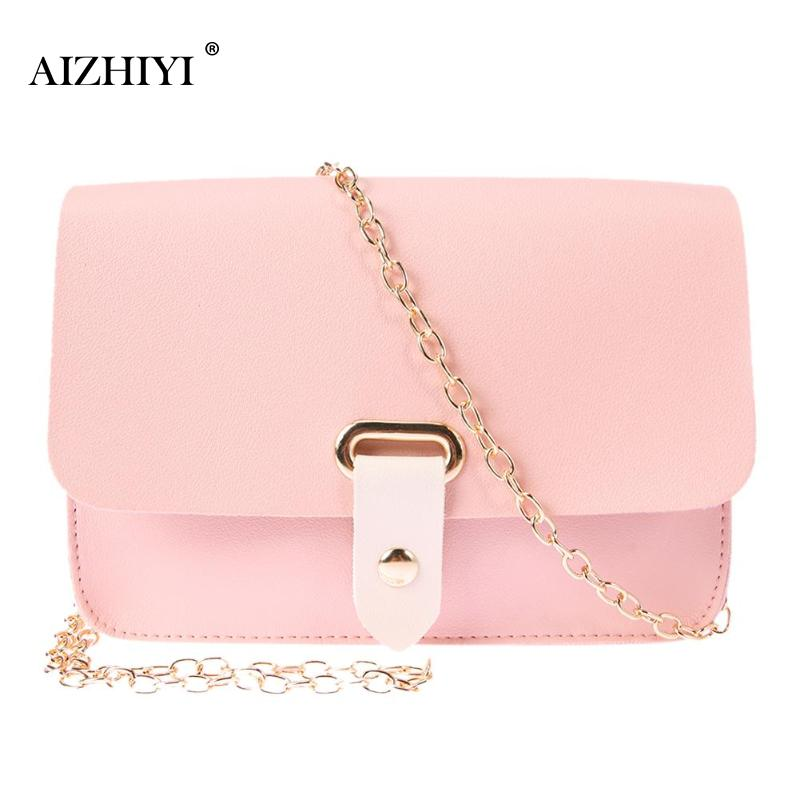 PU Leather Women Shoulder Bag Girls Simple Casual Flap Chain Crossbody Bags Fashion Mini Solid Portable Messenger Phone Bag New все цены