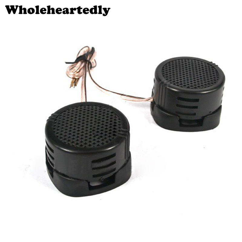 Universal High Efficiency 2PCS/Lot 500W Car Mini Dome Tweeter Loudspeaker Loud Speaker Super Power Audio Auto Sound Klaxon Tone