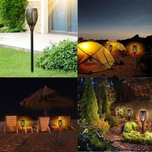 Image 2 - Solar Torch Light 96 leds Waterproof Solar Power LED Flame Light Outdoor Landscape Decoration Garden Lamp