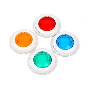 Image 3 - SUNNYLIFE 10PCS מגוון צבעים מקרוב צבע עדשת מסנן סט עבור Fujifilm Instax מיני 8 8 9 7s kt מיידי סרט מצלמה גאדג טים