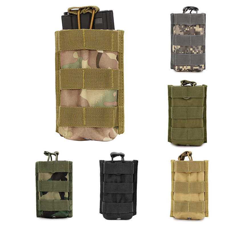 M4 Pouch Magazine Pouches Outdoor Tactical Walkie Talkie Bags Molle Mag Pocket
