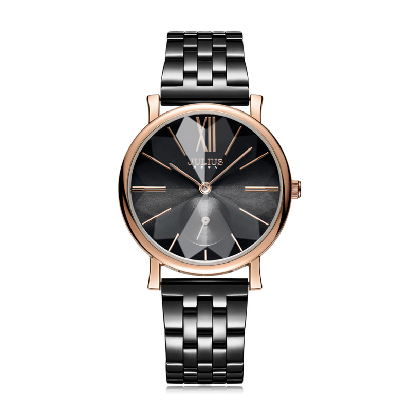 Large Womens Watch Mens Miyota Quartz Lady Hours Unisex Fine Fashion Clock Bracelet Stainless Steel Birthday Gift Julius BoxLarge Womens Watch Mens Miyota Quartz Lady Hours Unisex Fine Fashion Clock Bracelet Stainless Steel Birthday Gift Julius Box