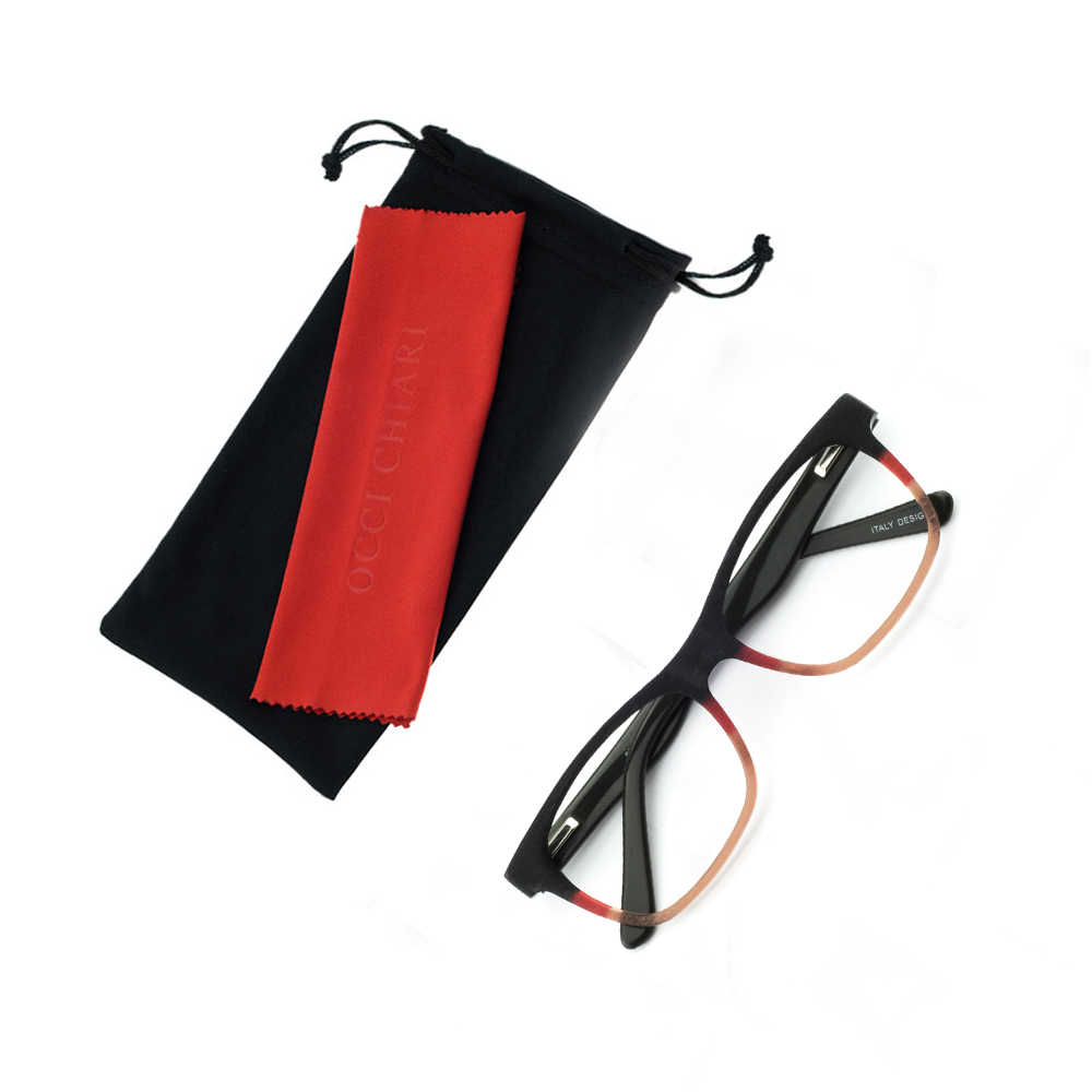 OCCI CHIARI Women Glasses Frame Men Eyeglasses Frames Acetate Spectacles Myopia Gafas Unisex Fashion Wood Grain Matte OC7042 in Men 39 s Eyewear Frames from Apparel Accessories