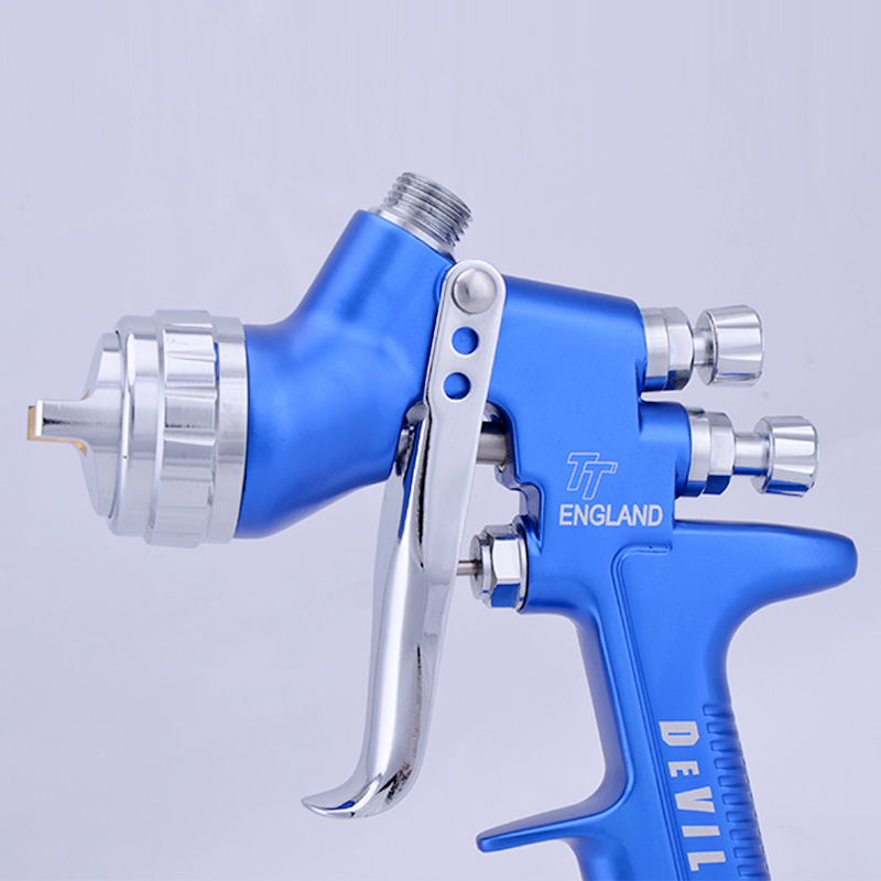 Professional environmental paint spray gun devilbiss tt lvmp spray gun Gravity Feed Paint pot volume 600ml hd 2 hvlp devilbiss spray gun gravity feed for all auto paint topcoat and touch up with 600cc plastic paint cup