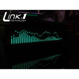 Link 1 VFD Music Audio Spectrum Indicator / with the remote