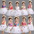 Девушки Белый Розовый Партия Прополка Платья Балетной Пачки Дети Бальные танцевальная одежда Костюмы платье детский Балет танцы платье