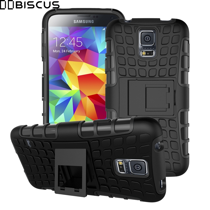 Stand-Cover Armor Hybrid G903F Silicone Sm-G900f/ds-Case S5 Neo Samsung Galaxy For Hard-Plastic