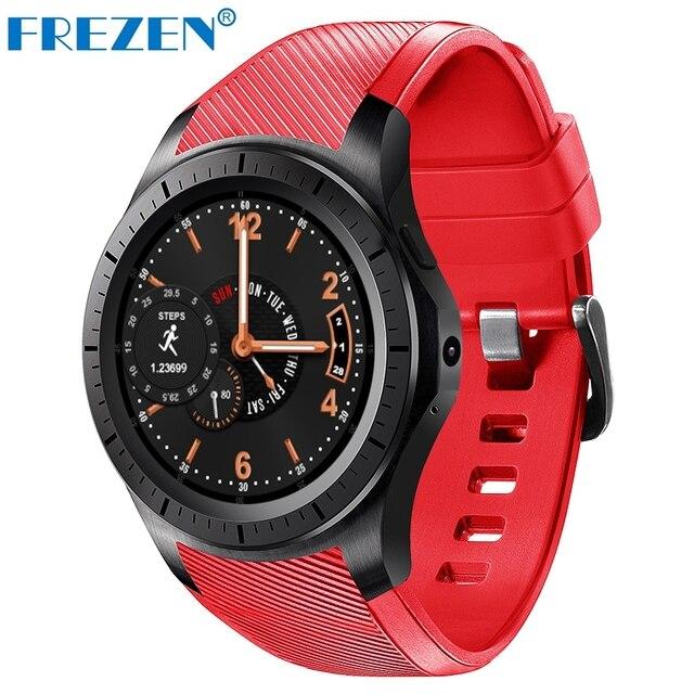 Frezen GW10 2 г/3 г Смарт-часы MTK6572 Android 5.1 Dual Core GPS монитор сердечного ритма sim-карты SmartWatch для iOS и Android телефон