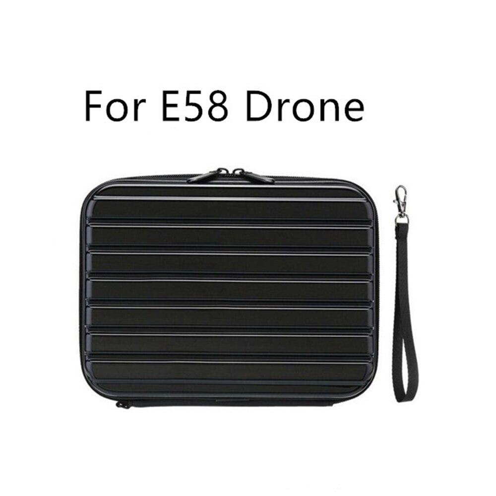 Vermetel Voor Eachine E58 Rc Drone Quadcopter Onderdelen Hard Shell Waterdichte Draagtas Opbergdoos Handtas Voor Fpv Racing Drones En Om Een Lang Leven Te Hebben.